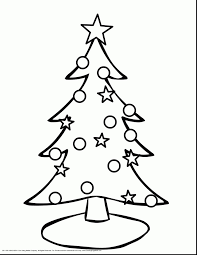 Christmas Tree Coloring Pages For Adults Printable Coloring Page
