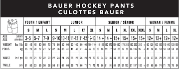 Junior Pants Size Chart Player Goalie Pant Sizing Guide South Windsor Arena