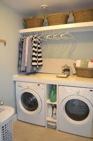 washer dryer cabinet diy laundry storage and organization ideas