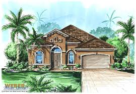 brilliant florida house plans with pools mediterranean house plan one story home floor plan for narrow lot