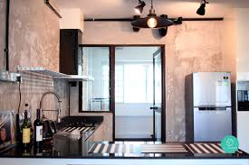 Interior Designer: Voila Location: Woodlands Masionette Cost of renovation:  $30,000