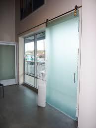 sliding glass barn doors top hung