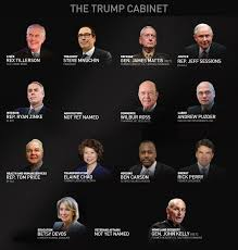 Us Cabinet Secretaries Trumps Cabinet Is Mostly White And Male What Will That Mean For