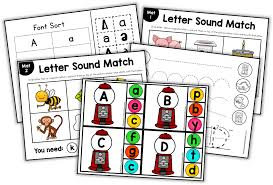 What free phonics worksheets would you like to see? Beginning Sounds Coloring Pages The Measured Mom
