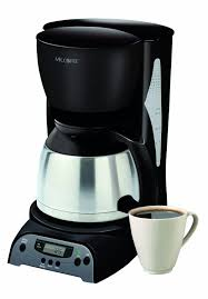The machine even has an attached frothing wand to craft specialty drinks like lattes and cappuccinos. Mr Coffee Drtx85 8 Cup Thermal Coffeemaker Black Mr Coffee Coffee Maker Coffee Store