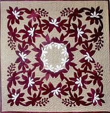 Hawaiian quilt. I really like the white flowers on this. | Quilts ... & Hawaiian quilt. I really like the white flowers on this. Adamdwight.com