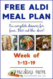 Free Aldi Meal Plan Week Of 11319 11919
