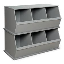 Badger Basket Three Bin Stackable Storage Cubby - Free Shipping Today -  Overstock.com - 13928205