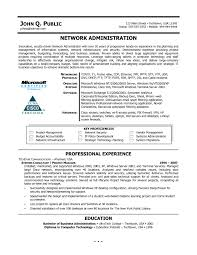 Sample Resume For Experienced Linux System Administrator Luxury