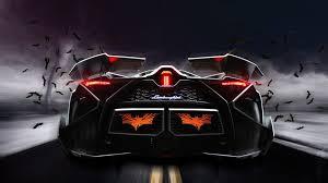 lamborghini egoista wallpaper 1080p. lamborghini egoista concept supercar rear view 4k ultra hd wallpaper 1080p r