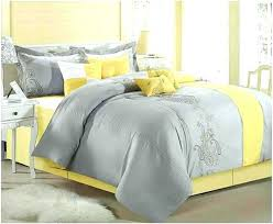 queen yellow duvet cover sets home design remodeling ideasyellow and grey striped king grey and yellow