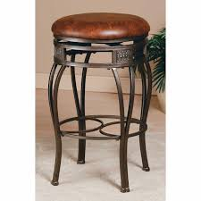 Backless Swivel Counter Stool - Old Steel | Hayneedle