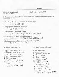 untitled document formal logic quiz 9