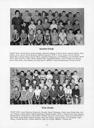 1963 waveland hornet yearbook second first