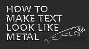 Affinity Designer How To Make Text Look Like Metal