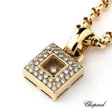 18yg chopard happy diamond necklace 79