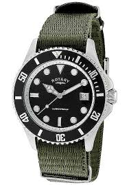 rotary watches men s classic black dial military green canvas rotary watches men s classic black dial military green canvas gs00022 04 rotary watches luxury wrist watches