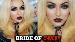 bride of chucky makeup tutorial costume