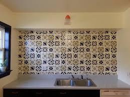 picture of faux talavera tile backsplash picture of faux talavera tile backsplash