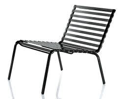 contemporary fireside chair steel stackable by ronan erwan bouroullec striped