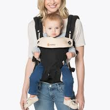360 - All Position Front Carrier - Black/Camel | Ergobaby