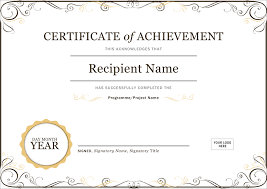 Student Of The Month Certificate Templates 50 Creative Blank Certificate Templates In Psd Photoshop