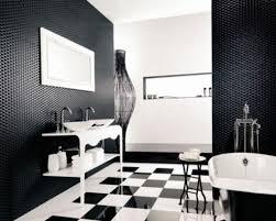 Black And White Bathroom Decor Black And White Bathroom Interior Design Black Decorative Wall