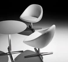 contemporary chair upholstered star base swivel club by heimberger