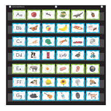 Alphabet Pocket Chart Cards Pocket Charts Organization