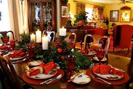 red christmas table decorations. Red Christmas Table Decorations S