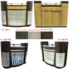 glass display reception desk w granite top photo details these image we d like to