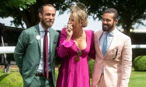 Vogue Williams and Spencer Matthews choose Kate Middleton's brother James  as godfather to son Theodore | HELLO!