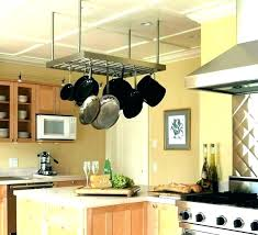 pots and pans hanging organizer kitchen pots and pans organizer storage pot pan hanger hanging rack