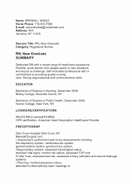 Examples Of Rn Resumes Resume Skills Cover Letter Nicu Nurse With