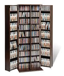 Amazon.com: Espresso Grande Locking Media Storage Cabinet with ...