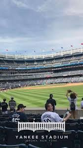 Tampa Yankees Stadium Seating Chart Yankee Stadium Section 104 Home Of New York Yankees New