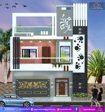 Kt Home Designs Front Elevation22 Modern Elevation Design Kt House Front