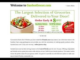 garden grocer have your groceries delivered to your disney resort room
