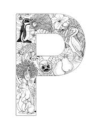 Free printable alphabet coloring pages in lovely original illustrations. Alphabet Coloring Pages