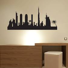 decal wall art city wall stickers