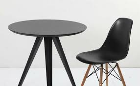 junko dining table round dia800 matched with argo pp tower chair essence digital singapore
