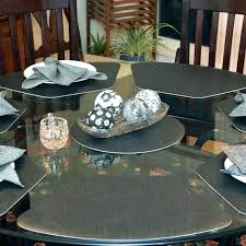 placemats for a round table for a round table vinyl for round tables cool furniture ideas