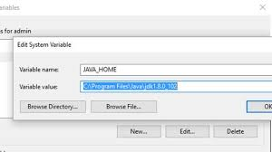 how to set java home in windows 10