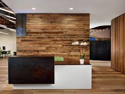 office reception counter. Floating Reception Desk Amid Open Office Layout - Peddle [Alterstudio And One Eleven Design]: Counter K