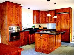 Maple Finish Kitchen Cabinets Dovetail Signature Kitchen Cherry Tiger Maple With Custom