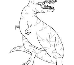 Small Picture Trex Coloring Pages Miakenasnet