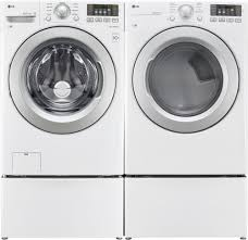 Gas Washers And Dryers Lg Dlg3171w 27 Inch Gas Dryer With Wrinkle Care Sensor Dry Nfc