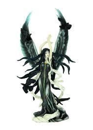 Veronese Design Angels Amazon Com Veronese Design Faery Of Ravens Sculpture By