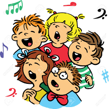 Image result for clip art singing