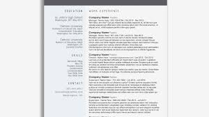 92 Resume Template Google Doc Free Minimalist Professional